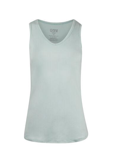 Women's V-neck Tank, COOL MINT, hi-res