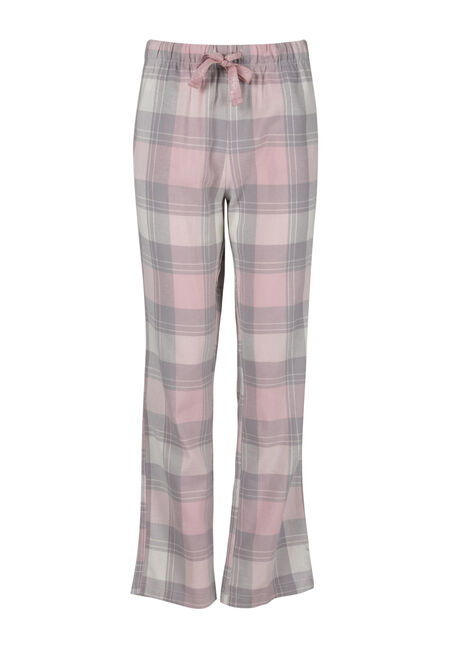 Ladies' Plaid Flannel Pant