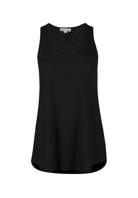 Ladies' Cage Neck Tank