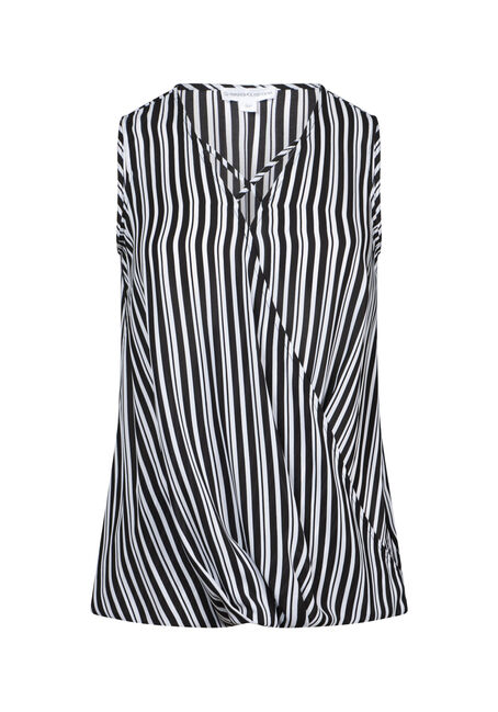 Women's Stripe Wrap Tank