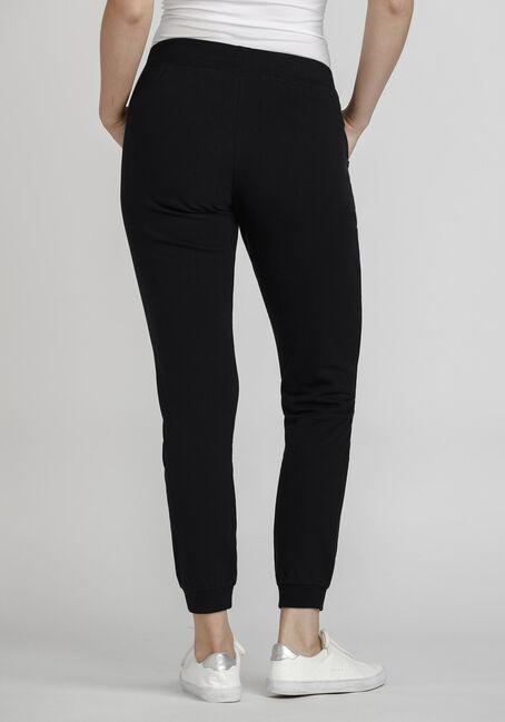 Women's Distressed Jogger, BLACK, hi-res