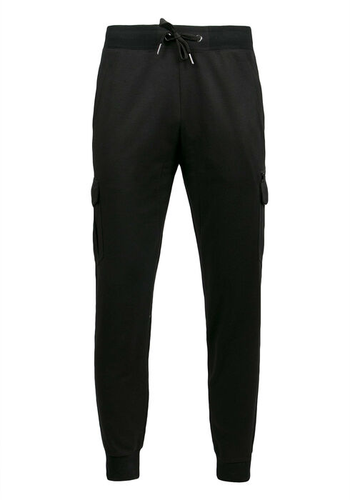 Men's Cargo Jogger, BLACK, hi-res