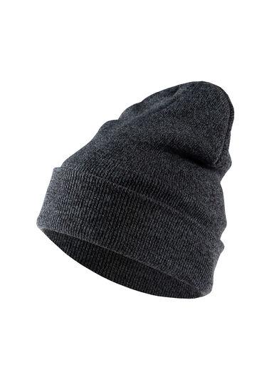 Men's knit Hat, BLACK, hi-res