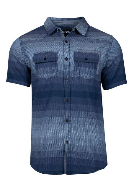 Men's Ombre Stripe Shirt