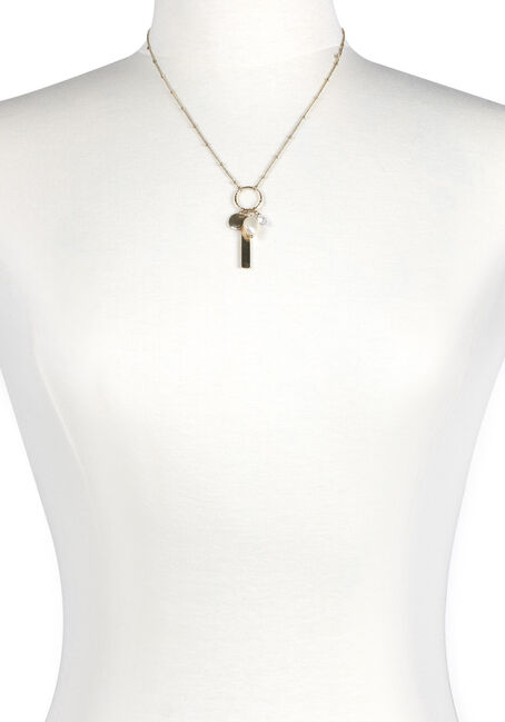Women's Charms on Ring Necklace