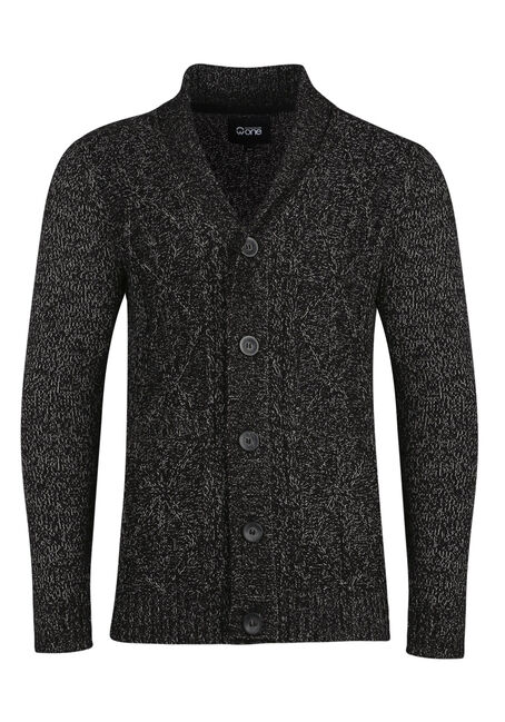 Men's Cable Knit Cardigan