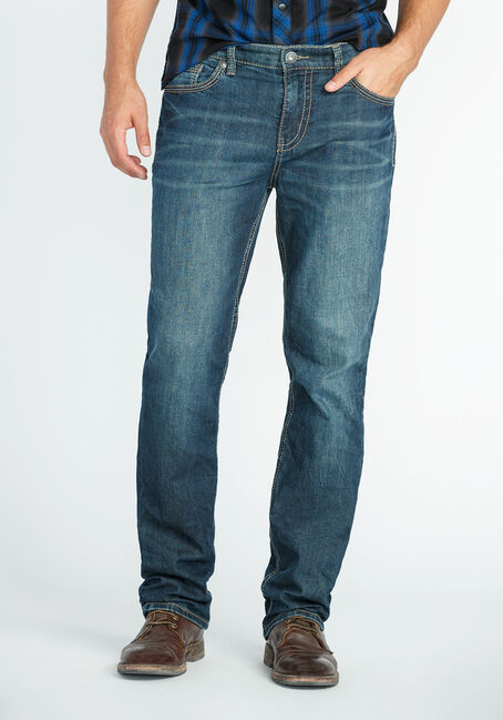 Men's Slim Straight Jeans