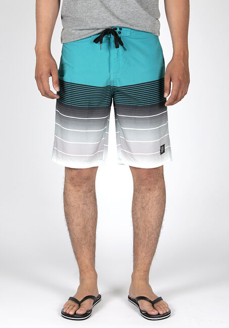 Men's Ombre Stripe Board Short