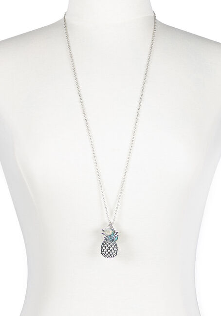 Ladies' Pineapple Charm Necklace