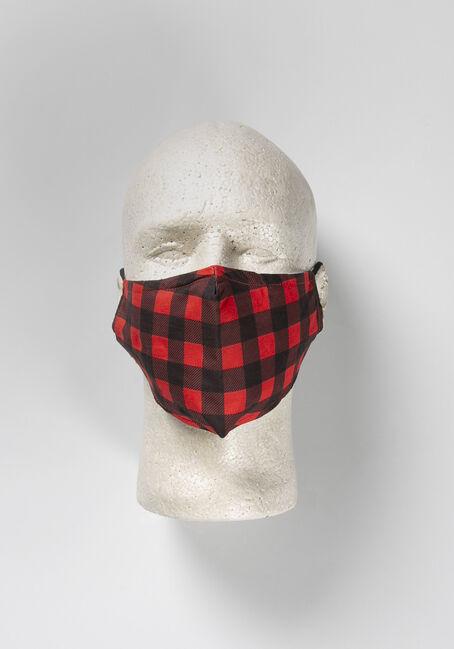 Buffalo Plaid Face Mask