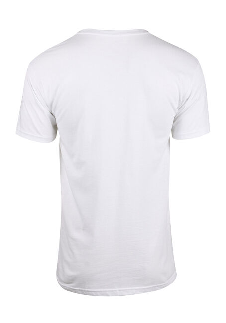 Men's IT Tee, WHITE, hi-res