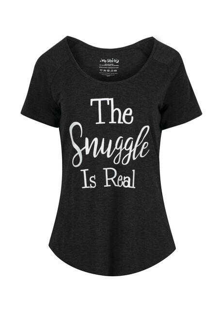 Ladies' Snuggle Is Real Sleep Tee