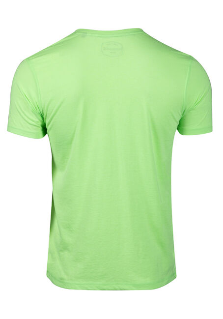 Men's Striped Tee, FRESH GREEN, hi-res