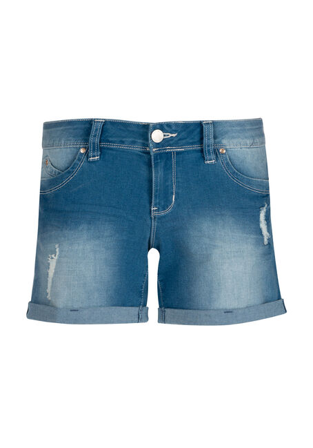 Ladies' Destroyed Short