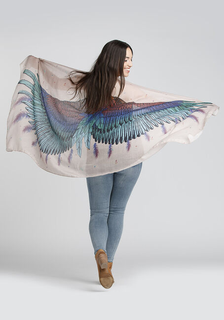 Ladies' Bird Wings Scarf