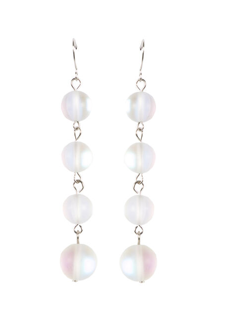 Ladies' Linked Bead Earrings