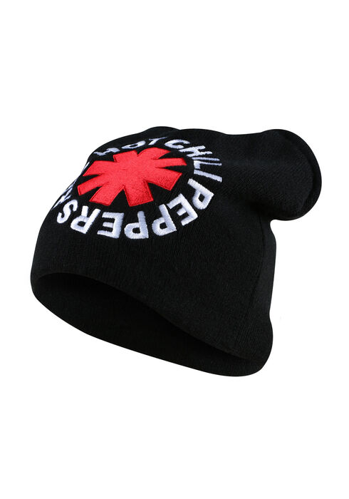 Men's Red Hot Chili Peppers Hat, BLACK, hi-res