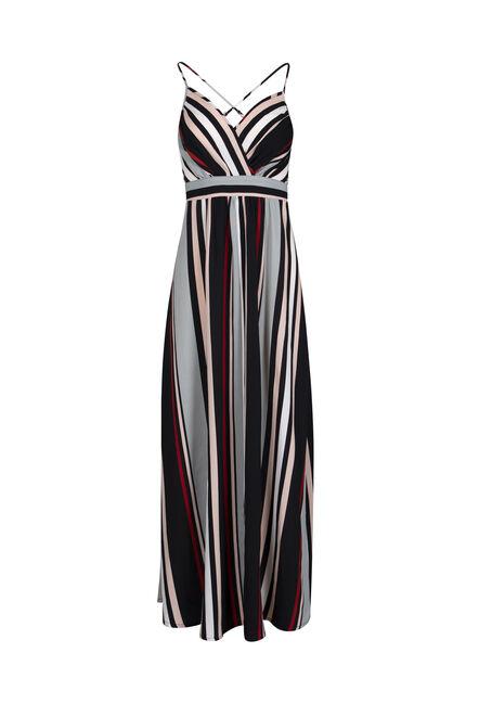 Women's Stripe Maxi Dress