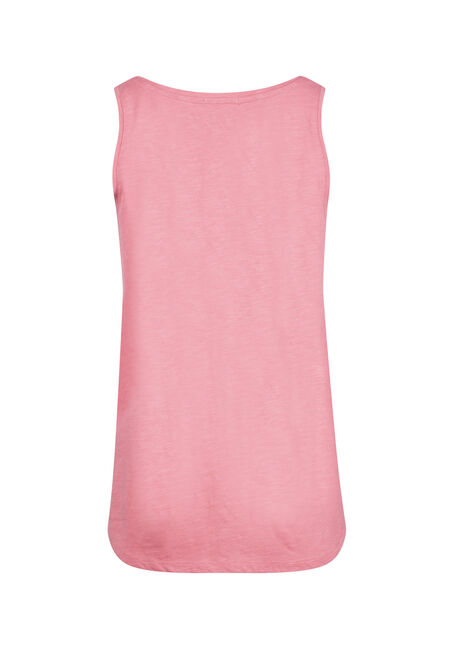 Women's Scoop Neck Tank, WATERMELON, hi-res