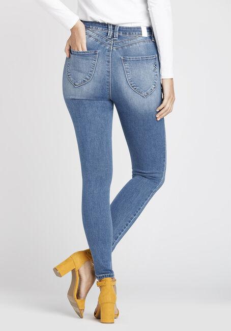 Women's Super High Rise Skinny Jeans, MEDIUM WASH, hi-res