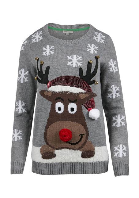 Ladies' Reindeer Sweater
