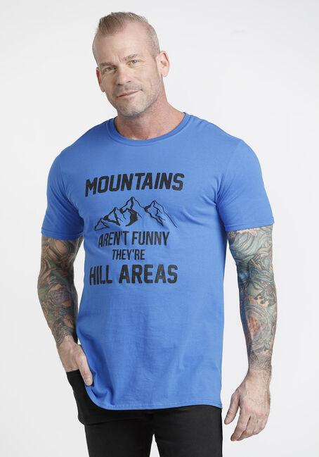 Men's Mountains Aren't Funny Tee