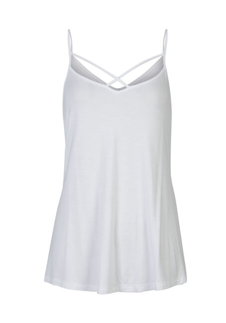 Ladies' Cage Front Strappy Tank