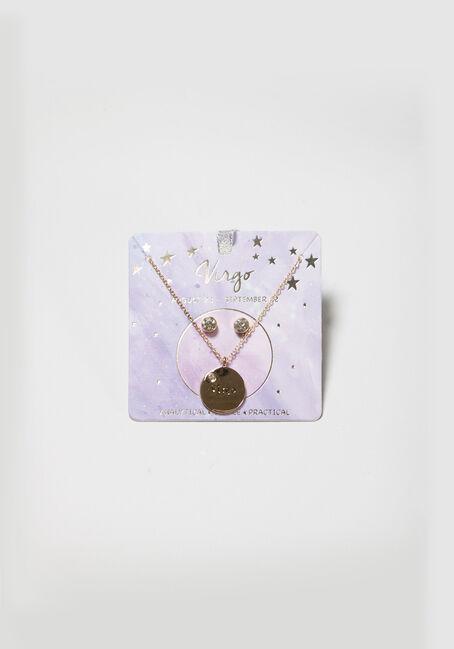 Women's Virgo Necklace Set