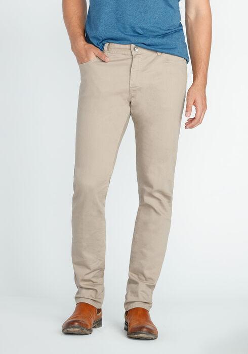 Men's Skinny Jeans, KHAKI, hi-res