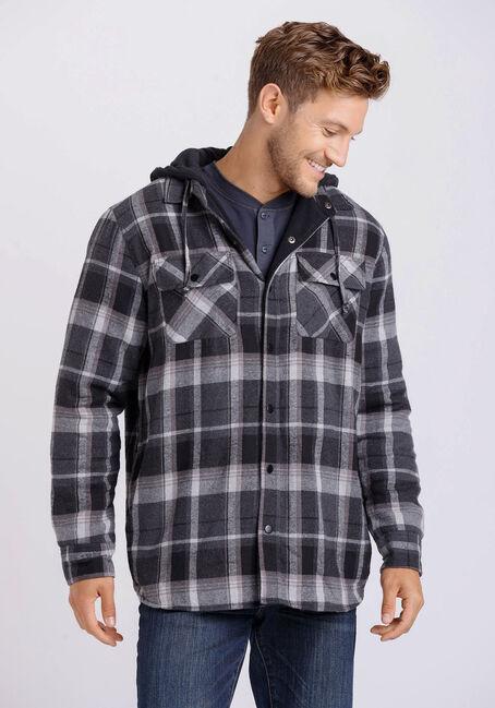 Men's Flannel Plaid Jacket