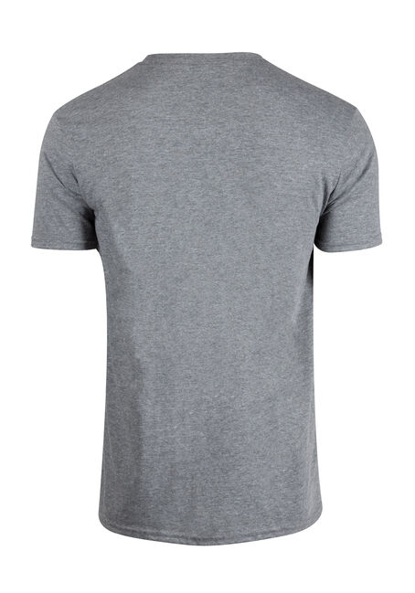 Men's Hockey Bag Tee, GRAPHITE HEATHER, hi-res