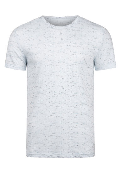 Men's Everyday Crew Neck Tee, LIGHT BLUE, hi-res