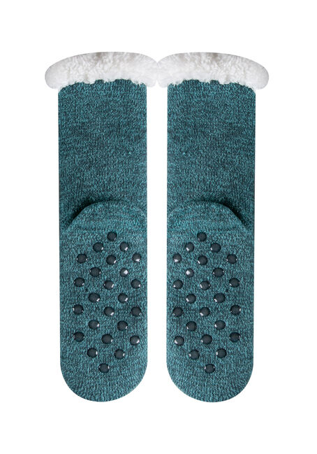 Ladies' Hedgehogs Slipper Socks, LIGHT BLUE, hi-res
