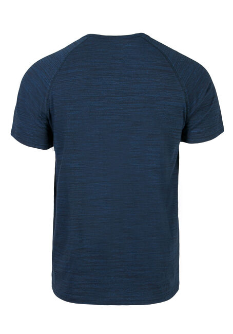 Men's Everyday Henley Tee, ROYAL BLUE, hi-res
