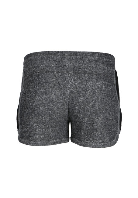 Ladies' Contrast Trim Shortie, BLK/WHT, hi-res