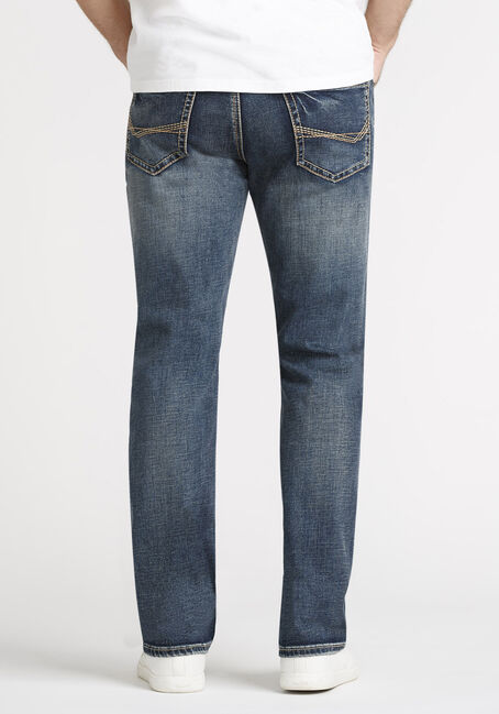 Men's Dark Wash Classic Boot Jeans, DARK WASH, hi-res