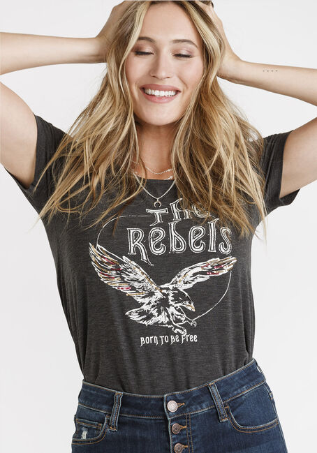 Women's Eagle Rock Scoop Neck Tee