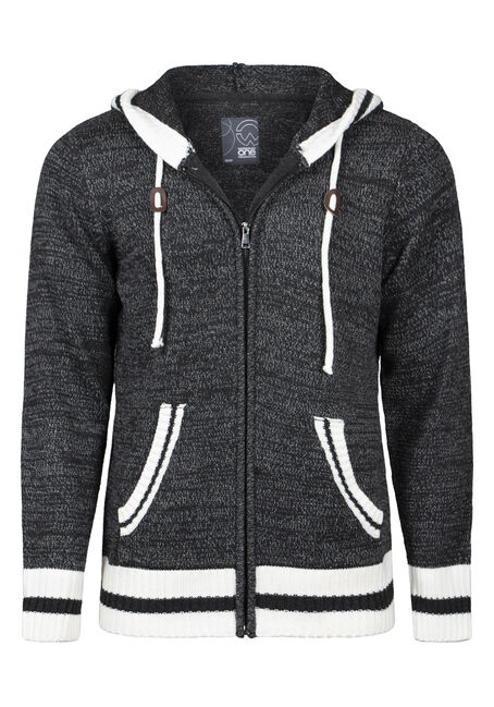 Men's Zip Up Cabin Sweater