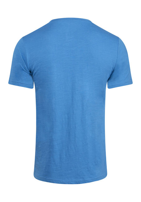 Men's Everyday Crew Neck Pocket Tee, ROYAL BLUE, hi-res