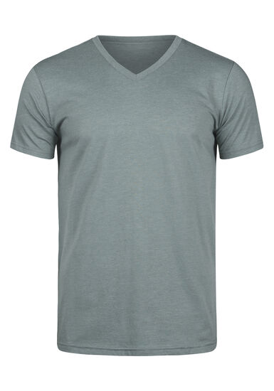 Men's Everyday V-Neck Tee, MOSS, hi-res