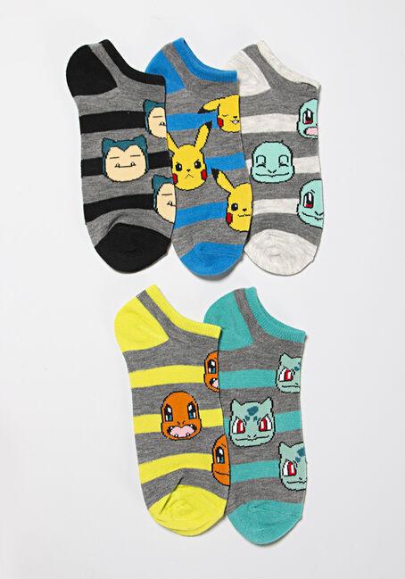 Women's 5 Pair Pokemon Socks