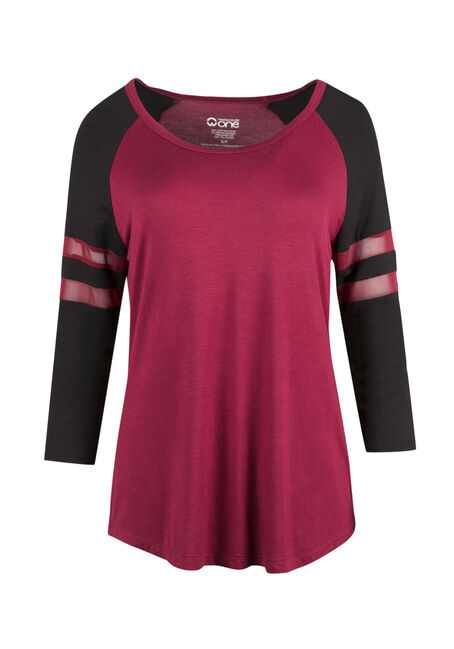 Ladies' Mesh Football Tee