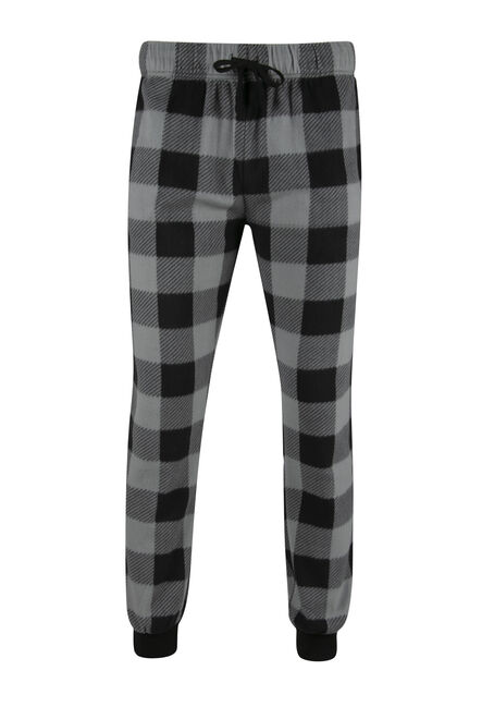 Men's Buffalo Plaid Fleece Jogger