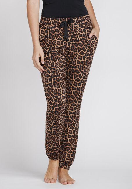 Women's Leopard Print Jogger