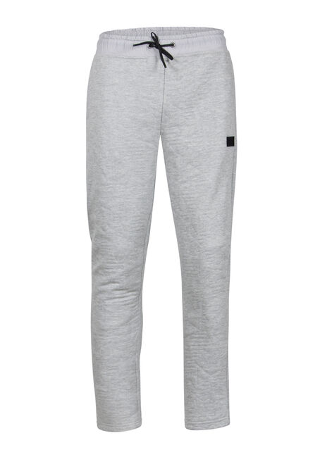 Men's Embossed Fleece Pant