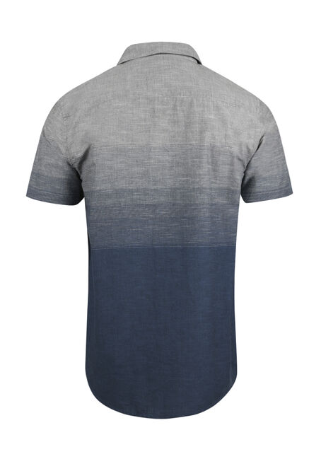 Men's Relaxed Ombre Shirt, TWILIGHT, hi-res