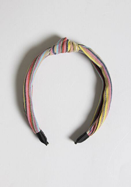 Women's Knot Top Headband, MULTI, hi-res