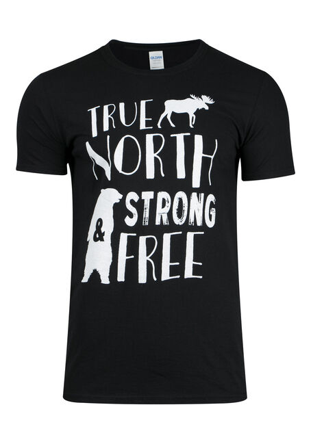 Men's True North Strong & Free Tee
