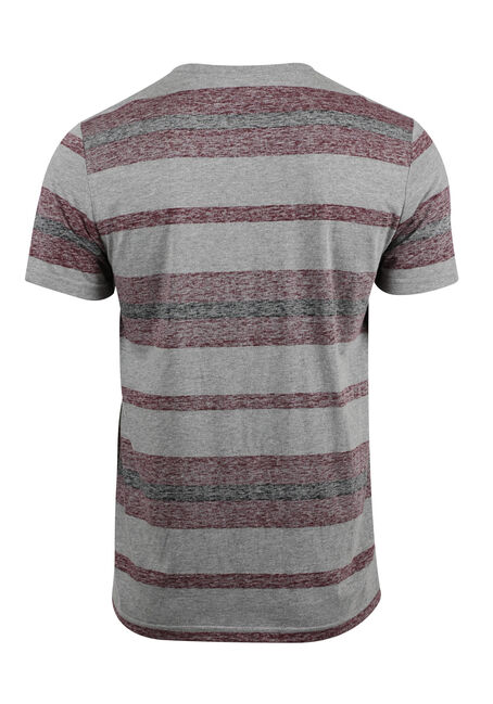 Men's Everyday Striped Tee, FIG, hi-res