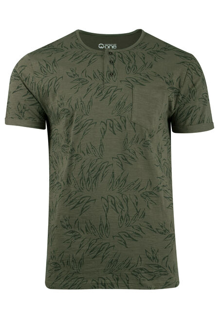 Men's Tropical Print Tee